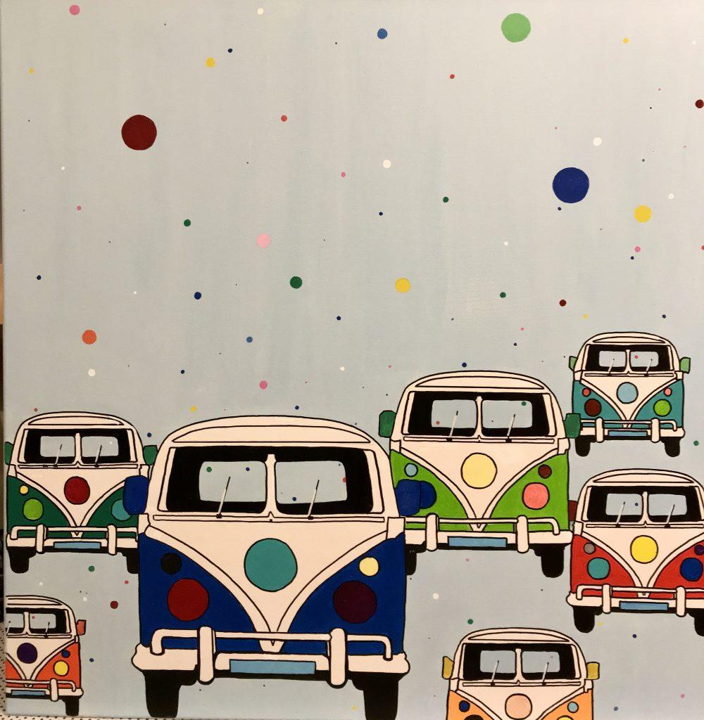 Afbeelding van VW busjes