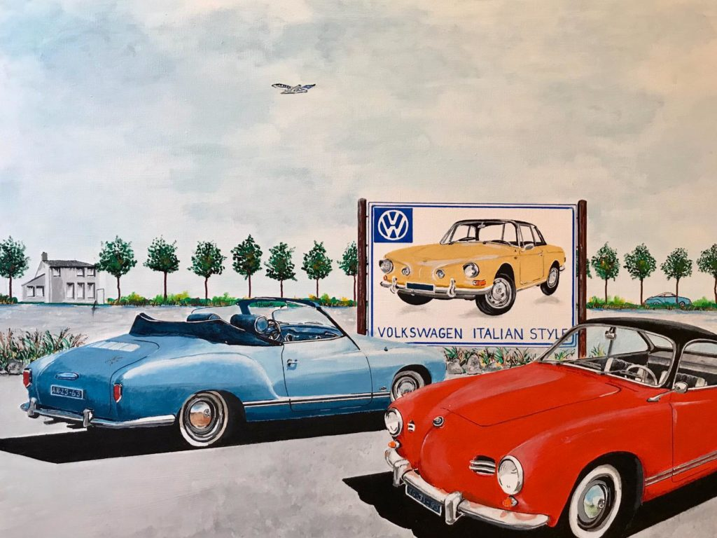 Afbeelding van Cars and planes.