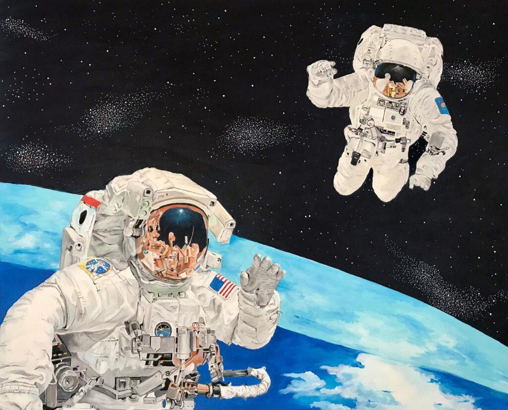 Afbeelding van Ruimtewandelaars